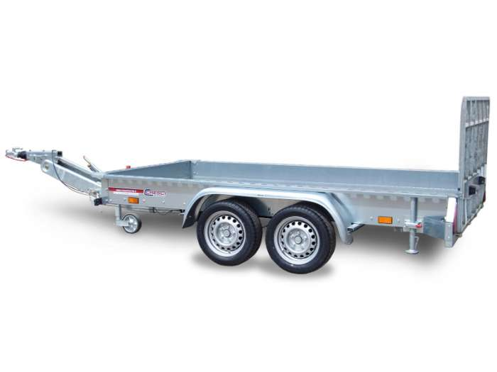 Rimorchi trasporto cose con rampe di salita TR25V