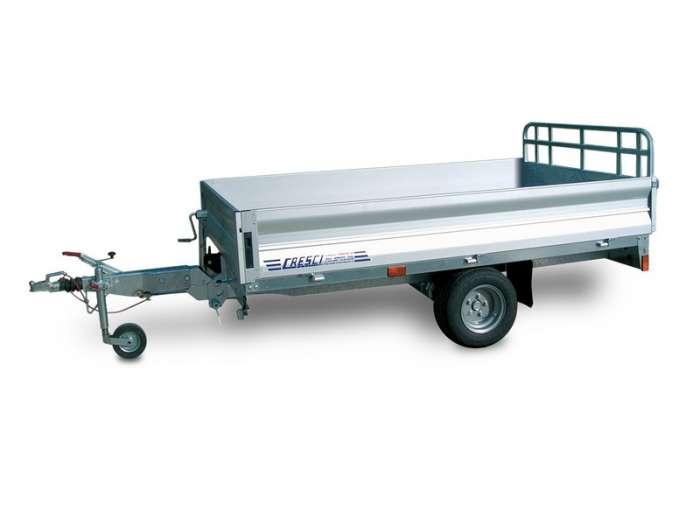 Rimorchi trasporto cose e veicoli con rampe di salita PT15