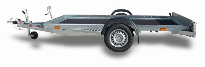 Rimorchi trasporto cose e veicoli con rampe di salita PT10