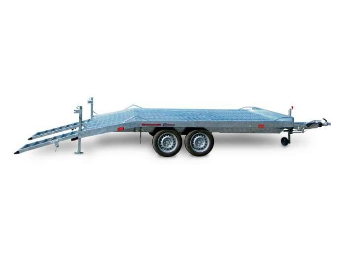 Rimorchi trasporto cose e veicoli con rampe di salita TM35F