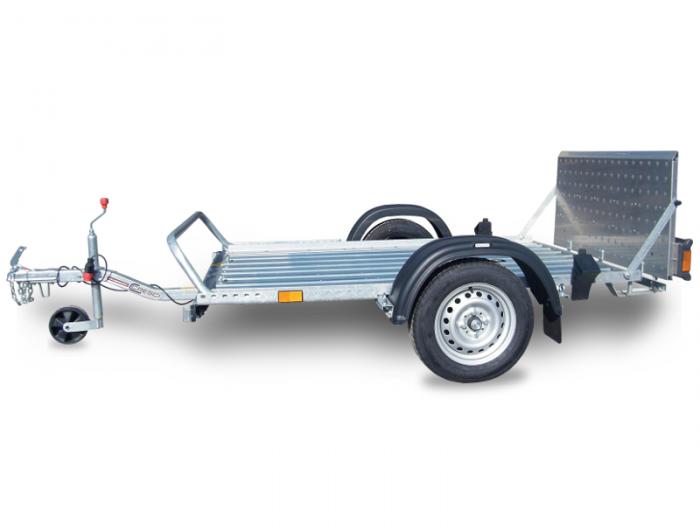 Rimorchi trasporto cose e veicoli con rampe di salita PT4 S.F.