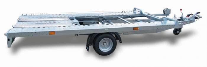 Rimorchi trasporto cose e veicoli con rampe di salita PA14