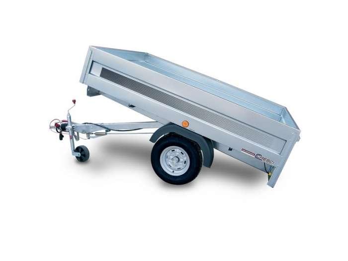 Rimorchi trasporto cose A6B piano di carico basculante