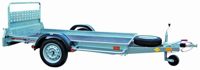 Rimorchi trasporto cose e veicoli con rampe di salita PT6