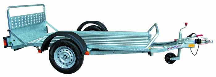 Rimorchi trasporto cose e veicoli con rampe di salita PT7/PT7E