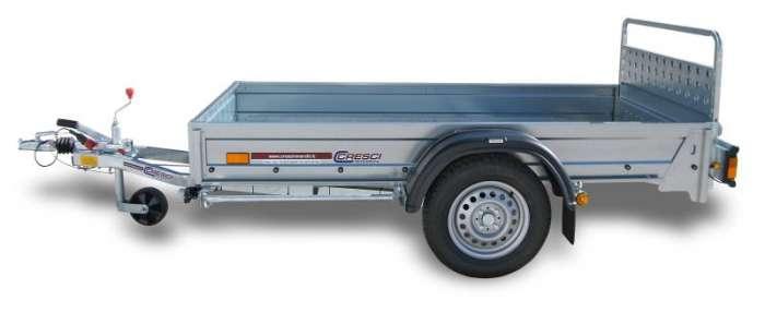 Rimorchi trasporto cose e veicoli con rampe di salita PT7C/PT7CE