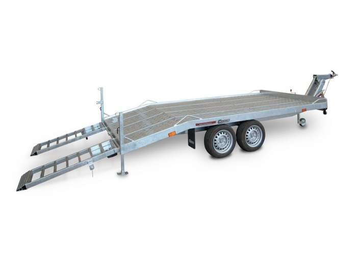 Rimorchi trasporto cose con rampe di salita TM35V