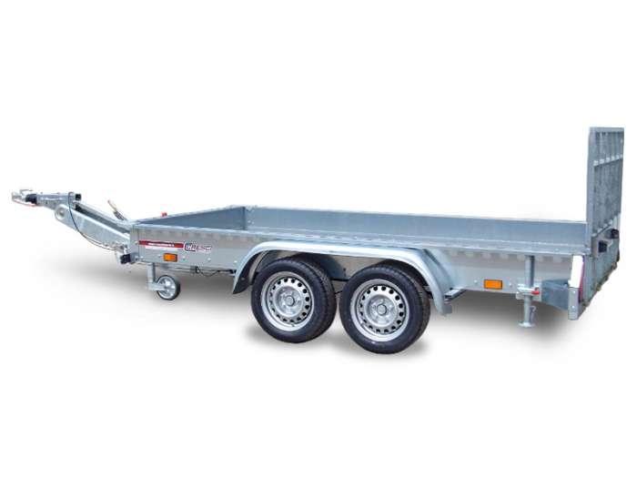 Rimorchi trasporto cose e veicoli con rampe di salita TR35V