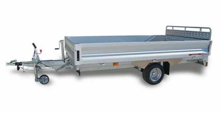Rimorchi trasporto cose e veicoli con rampe di salita PT15L