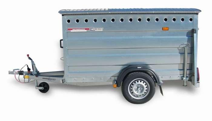 Rimorchi trasporto animali  PT6FA Omologato trasporto cose o animali