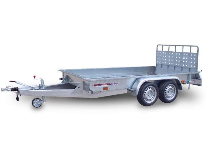 Rimorchi trasporto cose e veicoli con rampe di salita TR25F
