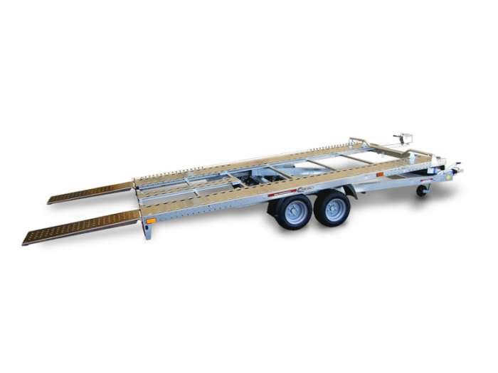 Rimorchi trasporto cose e veicoli con rampe di salita PA20