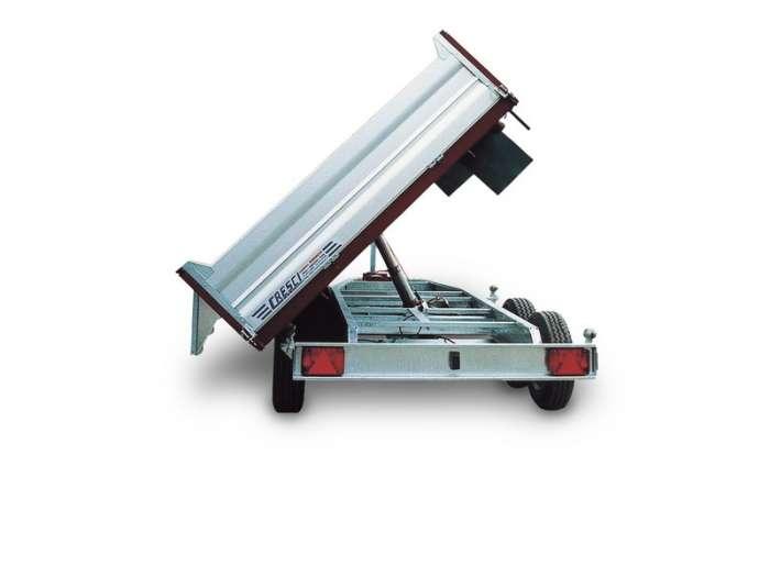 Rimorchi trasporto cose RB30 ribaltabile trilaterale elettroidraulico