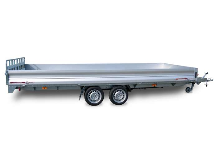 Rimorchi trasporto cose e veicoli con rampe di salita PTA30C PTA35C