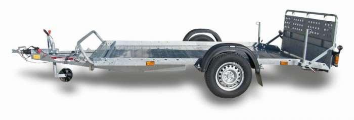 Rimorchi trasporto cose e veicoli con rampe di salita PT7XL