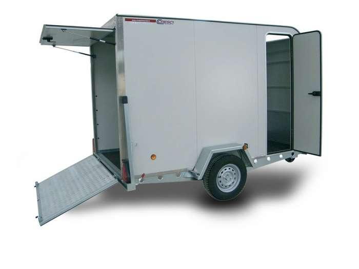 Rimorchi trasporto cose con rampe di salita Facilità trasporto veicoli o cose