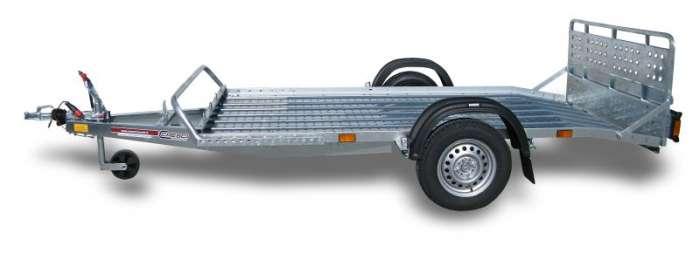 Rimorchi trasporto cose e veicoli con rampe di salita PT7L