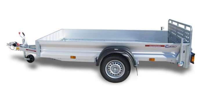 Rimorchi trasporto cose con rampe di salita PT7CL