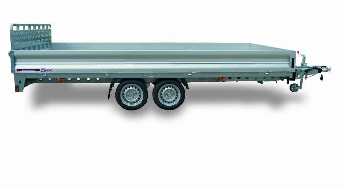 Rimorchi trasporto cose e veicoli con rampe di salita PT35