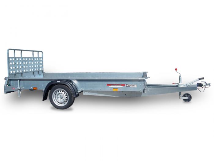 Rimorchi trasporto cose e veicoli con rampe di salita TR15