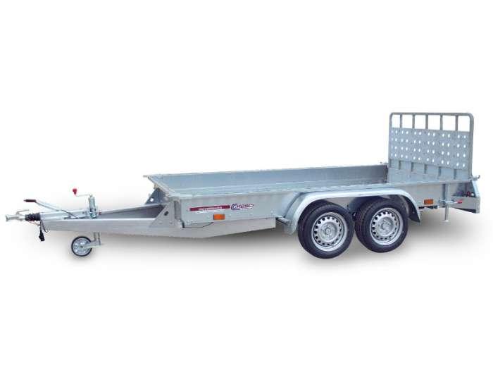 Rimorchi trasporto cose con rampe di salita TR35F