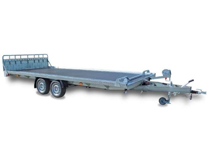 Rimorchi trasporto cose e veicoli con rampe di salita PTA30 PTA35