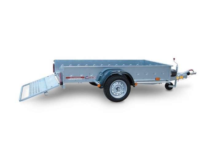 Rimorchi trasporto cose e veicoli con rampe di salita PT6C