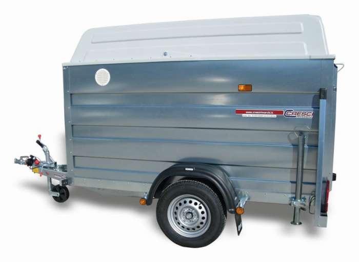 Rimorchi trasporto cose e veicoli con rampe di salita PT6F