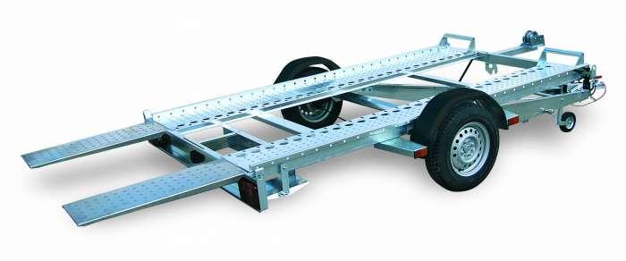 Rimorchi trasporto cose e veicoli con rampe di salita PA10