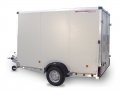 Trailers for transporting goods with loading ramps 750F standard