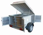Trailers for transporting animals